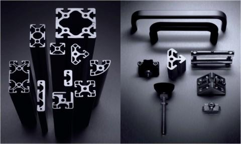 Evomec evolucions mecaniques s l perfil aluminio for Perfiles de aluminio barcelona